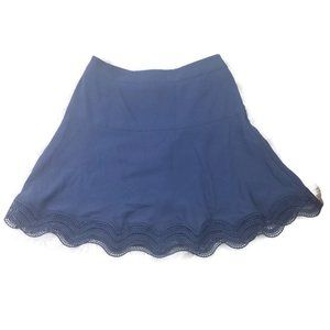 Ann Taylor Petite Womens Skirt 4P Fit Flare